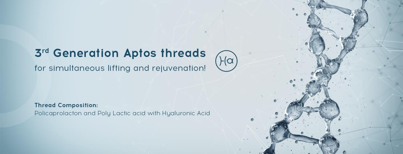 3rd Generation Aptos threads with HA for simultaneous lifting and rejuvenation
